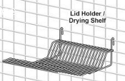 Metro Lid Holder/Drying Shelf