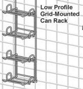 Metro Low Profile Can Rack