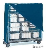 Shelf Truck and Cart Covers with Zipper or Velcro Closures