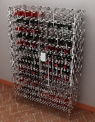Metro Security Wine Cradle Units