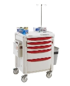 "Phlebotomy Cart - 39"" High"