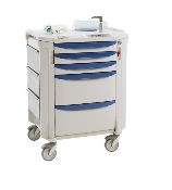 "Difficult Airway Cart - 42"" High"