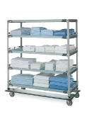 MetroMax i Polymer Linen Exchange/Transport Cart