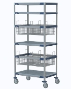 MetroMax i Shelf & Basket Cart