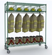 Mobile TurnOut Gear Rack