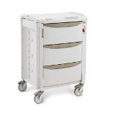 "Deep Drawer Treatment Cart - 42"" High"