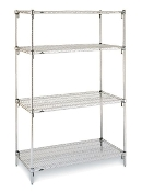 Super Adjustable Stainless Steel Shelving