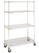 Super Erecta Mobile Convenience Pak, stainless steel