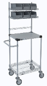 Mobile Task Station w/Galvanized Steel Top