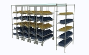Top-Track Super Erecta w/Slanted Shelves