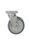 Metro Stainless Steel Cart-Washable Plate Caster