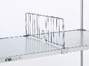 Metro Shelf Dividers for Solid Shelves