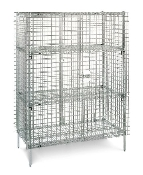 Metro Super Erecta Stationary Security Unit in Chrome