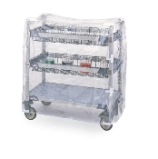 Clear Vinyl Cart Cover