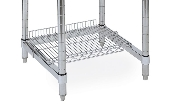 Metro Stainless Steel Wire Shelf for Lab Worktables