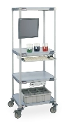 4 Shelf MetroMax i High-Performance Liquid Chromatography Cart