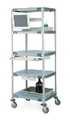 5 Shelf MetroMax i High-Performance Liquid Chromatography Cart