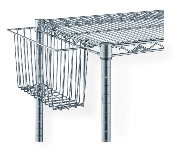 Stainless Steel Utility Basket