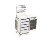 Anesthesia Cart w/Electronic Keypad Lock & Backup
