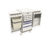 Unit Dose Medication Cart with Electronic Touchpad Lock