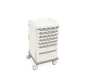 Mobile Cart Single Wide with 7 Drawers