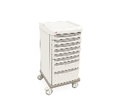 Mobile Cart Single Wide with 8 Drawers