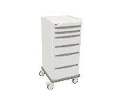 Mobile Cart Single Wide with 5 Drawers