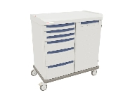 General Supply Cart Double Wide