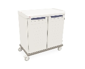 Mobile Enclosed Cart - Double Wide