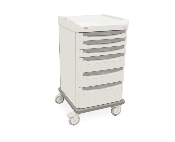 Dressing Cart with Mechanical Lock