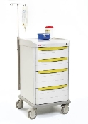 Isolation Cart with Mechanical Lock