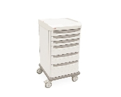 Mobile Cart Single Wide with 6 Drawers