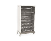 Mobile Supply Cabinet - Open Shelves