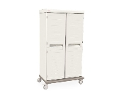 Mobile Enclosed Supply Cabinet - Double-Wide