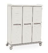 Mobile Supply Cabinet - Triple-Wide Push/Pull Handle not shown on image