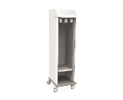 Catheter Storage Cabinet with Tambour Door