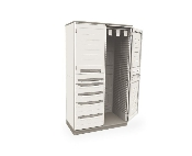 Tall Stationary Cabinet - Catheter Storage