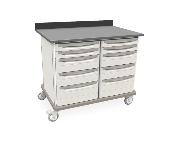 Metro Starsys Double-Wide Unit with polymer drawers