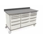 Metro Starsys Triple-Wide Unit with polymer drawers