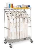 Catheter Procedure Cart - Bulk Storage