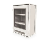 Overhead Cabinet w/Clear Door