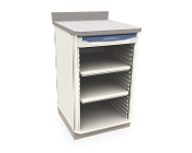 Single Wide Open Cabinet with Drawer