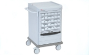 Med Cart with Electronic Touchpad Lock