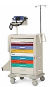 Pediatric Code Response Cart