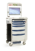 Anesthesia Cart w/Power