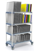 MetroMax i Mobile Tray Drying Rack Unit