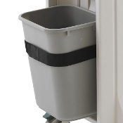 Waste Basket shown with Holder