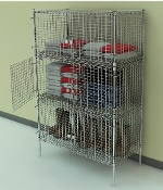 Security Cage Locker - Stationary