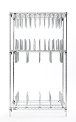 Stencil Storage/Drying Rack - Type B - Stainless Steel