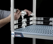 "MetroMax 4, 2"" Stackable Shelf Ledges"